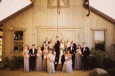California Rustic Vintage Garden Wedding - Rustic Wedding Chic