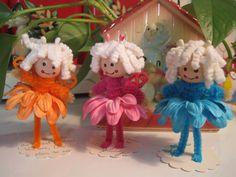 Swaps and hat crafts - Garden Fairy tutorial link