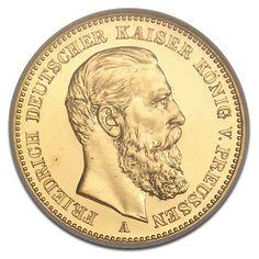 Kaiser Friedrich III., Preußen, 20 Mark, 7.16g Gold, 1888, Gold, Deutschland, 7.16g | CoinInvest