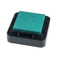 Encreur 2,5 x 2,5 cm Bleu/Vert