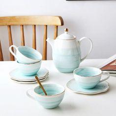 (1) Pastel Ombre Teapot Sets – Estilo Living