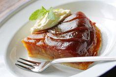 Un bon dessert autour d'une tarte tatin, cela fait toujours du bien. En plus, des pommes, on en trouve toute l'année alors pas question de s'en priver !