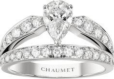 CHAUMET Joséphine platinum and #diamond tiara ring