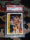 For Sale - 1986 Fleer Sticker #7 Earvin Magic Johnson (Los Angeles Lakers) PSA 8 NM-MT - http://sprtz.us/LakersEBay