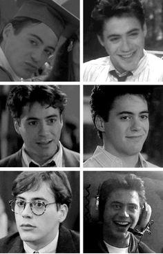 Robert. Total cuteness. Robert Downey Jr Young, Rober Downey Jr, Marvel Tony Stark, Anthony Edwards, I Robert, Man Thing Marvel, Downey Junior, White Man, Cute Guys