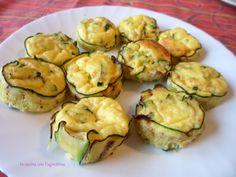 Frittatine nelle zucchine