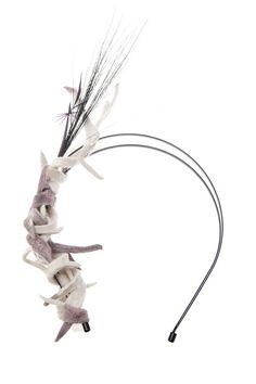 Gigi Burris Millinery 'Inclination' Headband, $299; farfetch.com    - ELLE.com