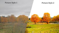 Tutorial on how to use picture styles to increase the dynamic range of the Canon 7D / 5DMkII.