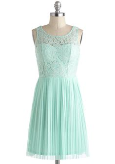 A pretty, semi-formal dress. When could you not wear this? <3