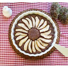 moms_sweet_kitchen : Çikolatalı Armutlu Tart