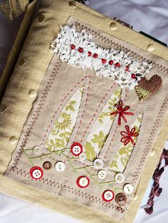 Art Quilt Journal (3 windows) by Rebecca Sower, via Flickr