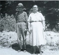 """Grandad and Granny from """"Over the River and Through the Woods...and Around the Hills and Hollers"""" on Appalroot Farm, a blog inspiring those with Appalachian roots to celebrate their heritage. www.appalrootfarm.com"""