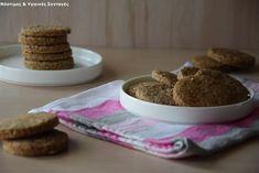 """Νόστιμες κ Υγιεινές Συνταγές: Νηστίσιμα τραγανά μπισκότα """"βουτύρου"""" καρύδας"""