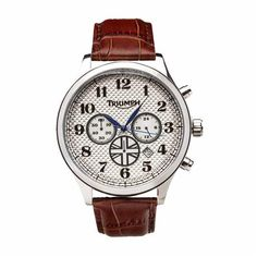Heritage Chronograph Watch by Triumph Motorcycles | Traditional, classic style timepiece
