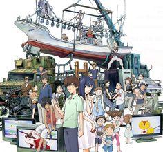 """Yoshiyuki Sadamoto """"Summer Wars"""""""