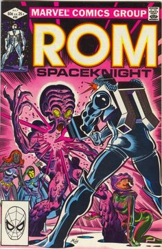 Rom: Space Knight # 32 by Al Milgrom & Joe Sinnott