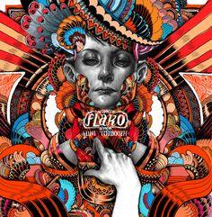 CD cover designs : FAIR HERON/ flaKo/ amos showtime by iain macarthur, via Behance