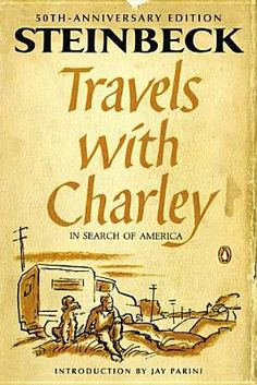 Corey recommends Travels with Charley in Search of America by John Steinbeck