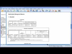Two Way ANOVA - SPSS (part 5) - YouTube