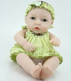 awesome 11'' Cute Realistic Lifelike Reborn Baby Dolls Silicone Newborn Premie Baby Girl - For Sale Check more at http://shipperscentral.com/wp/product/11-cute-realistic-lifelike-reborn-baby-dolls-silicone-newborn-premie-baby-girl-for-sale/