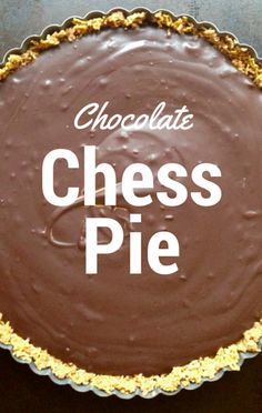 The co-hosts of The Chew, each shared their holiday dessert recipes, including Carla Hall with her Chocolate Chess Pie.
