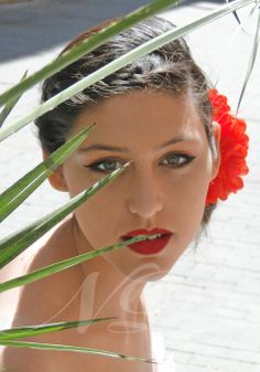 Maquillaje de novia Modelo: Hanna Ferrero Maquillaje: Naroa Poulin Fotografía: Naroa Poulin