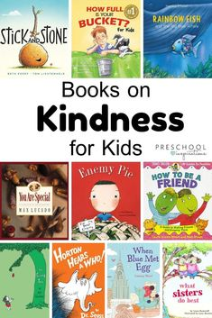 Teacher and Parent Recommended Books on Kindness for Kids – Preschool Inspirations In a world where you can be anything, be kind! Here's a great list of the best books on kindness for kids, compiled by teachers and parents! Kindness For Kids, Books About Kindness, Teaching Kindness, Kindness Activities, Preschool Activities, Kindness Ideas, Preschool Books, Best Kindergarten Books, Books For Preschoolers