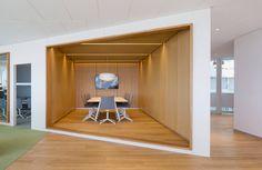 swedbank headquarters by 3XN in sundbyberg, sweden