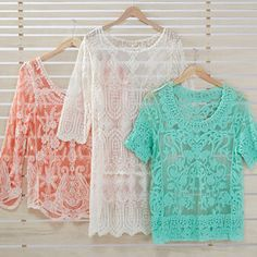 Amazing Lace Tops