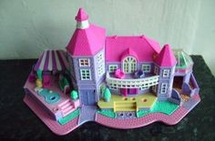 This was the Polly Pocket castle I had. Best Christmas present ever.