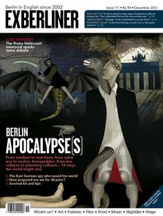 EXBERLINER Issue 111, December 2012- The Apocalypse Issue