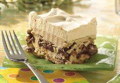 Dulce De Leche Mocha Ice Cream Dessert