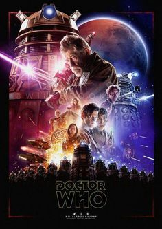 That new Star Wars poster is a thing of beauty, and was just crying out to be ripped off for a Doctor Who Time War piece. Enter Will. Doctor Who - The Time War Doctor Who Fan Art, Doctor Who Series 9, Serie Doctor, I Am The Doctor, First Doctor, Doctor Who Poster, Matt Smith, Dr Who, Tardis