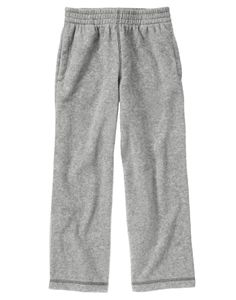 Pull on doubly soft and cozy pants with pockets.
