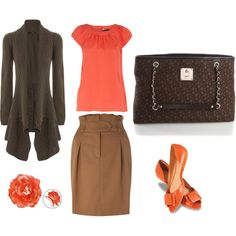 Browns and corals