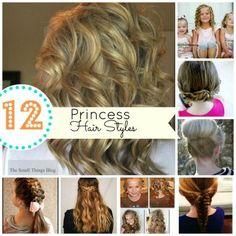 12 great hair style tutorials!