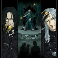 Lucius and Severus