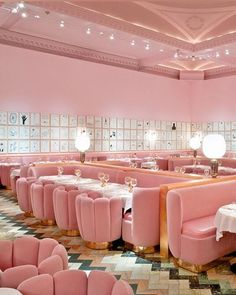 Image 4 of 33 from gallery of 2015 Restaurant & Bar Design Award Winners Announced. London / Design Research Studio. Image Courtesy of The Restaurant & Bar Design Awards Restaurant Rose, Sketch Restaurant, Design Bar Restaurant, Restaurant Interiors, Cocktail Restaurant, Nobu Restaurant, Delicious Restaurant, Bar Design Awards, Best Interior