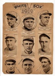 Should Shoeless Joe Jackson Be In The Hall Of Fame. Here are the players from the 1919 White Sox.
