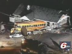 Angel Perry drove 11 kids in a school bus when a tornado touched down nearby. She prayed. They survived.