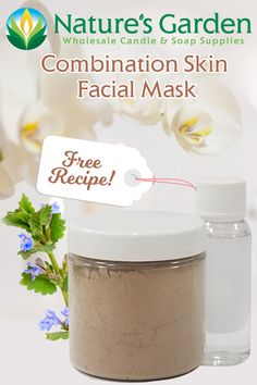 Free Combination Skin Facial Mask Recipe by Natures Garden