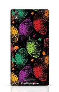 Leaves Sony Xperia T3 Phone Case