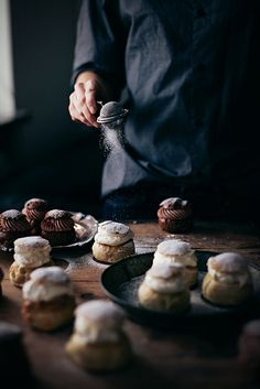 Making: Semlor (Swedish Cream Buns) | Call Me Cupcake