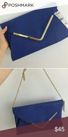 Steve Madden Envelope Clutch Steve Madden Envelope Clutch.New with tag.a lot of room for night out or dinner Steve Madden Bags Clutches & Wristlets