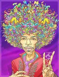 Flower Power:  #Flower #Power ~ Jimi Hendrix.