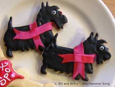 Scottie Dog Tin! Hammer Song Cutters. #Cookies