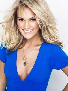 Carrie Underwood: Such a talented and beautiful woman! I would love to pick her brain about music!!