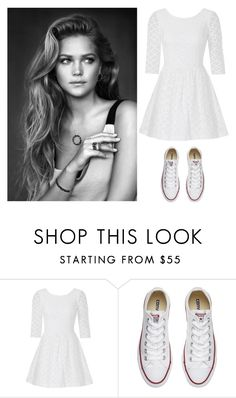 """""""Simple"""" by annnnnnnnnn ❤ liked on Polyvore featuring Lilly Pulitzer and Converse"""