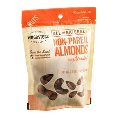 Woodstock Non-Pareil Almonds Raw & Unsalted