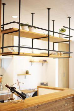 滋賀県草津市で 注文住宅を施工しております。太陽住宅㈱ 『木を愉しむ家』 #おうちカフェのような家 #リビング #おしゃれ #カフェ #造作 #マイホーム #暮らし #potskitchendecor